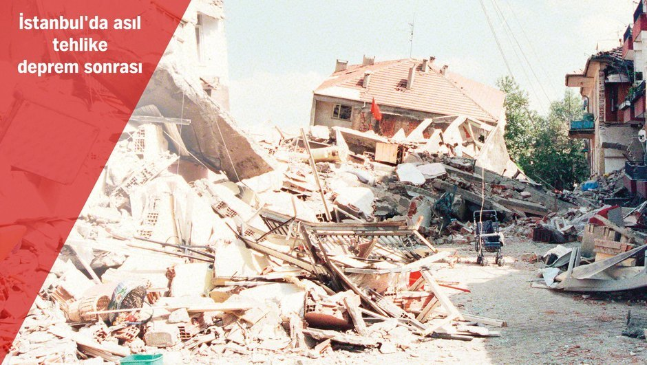 İstanbul 17 Ağustos Marmara depremi