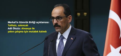 Cumhurbaşkanlığı Sözcüsü İbrahim Kalın: Donanma Komutanı istifa etti