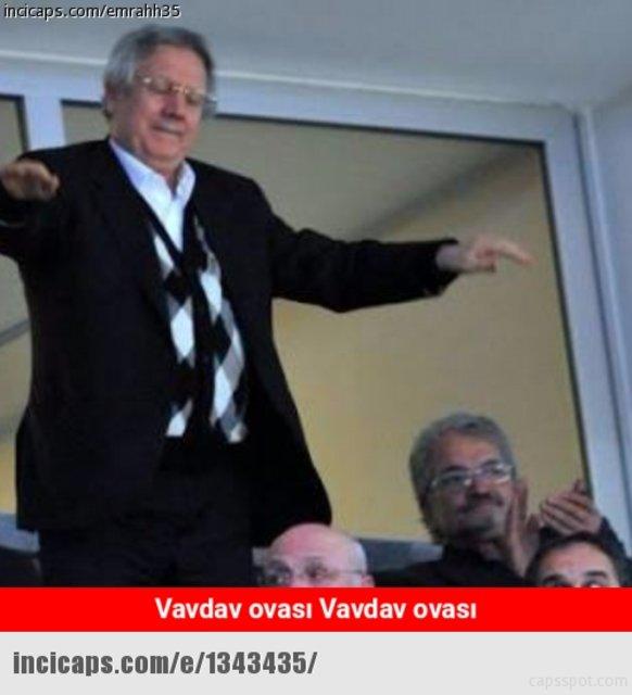 Vardar - Fenerbahçe maçı capsleri