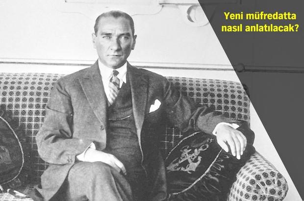 15 Temmuz Atatürk müfredat