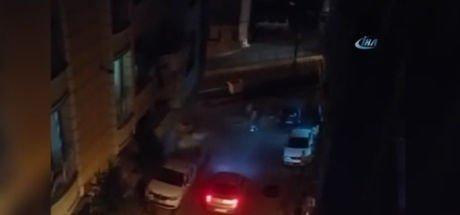 Zeytinburnu'nda Suriyelilerin kavgası mahalleyi savaş alanına çevirdi