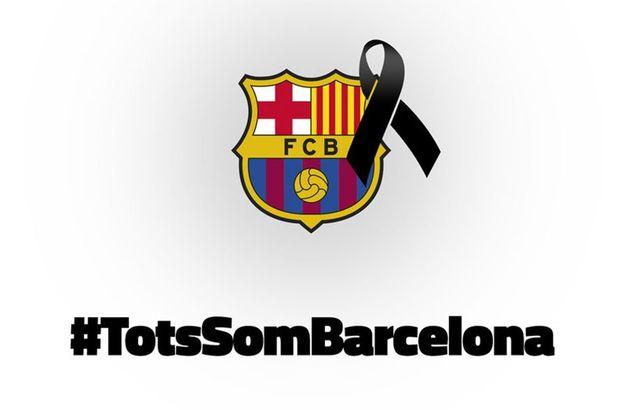 Barcelona, şehirde gerçekleşen terör saldırısı için Real Betis maçına siyah bantla çıkacak