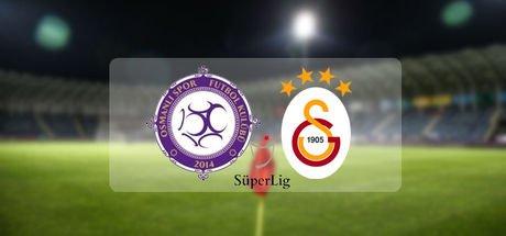 Osmanlıspor - Galatasaray maçı saat kaçta?