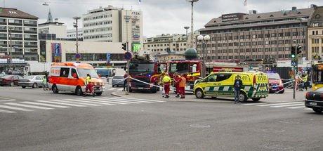 Finlandiya'da bıçaklı saldırı.. Çok sayıda yaralı var