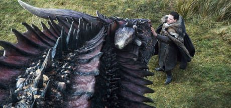 Emilia Clarke, ejderha taklidi yapan Jon Snow'u paylaştı