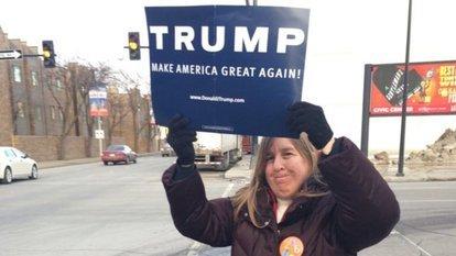 Trump'a iki kere oy vermek başını yaktı