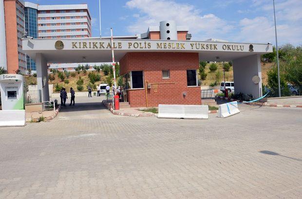 Kırıkkale'de nöbette kaza kurşunu