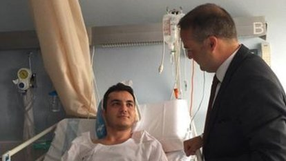 Barcelona saldırısında yaralanan Türk'ün fotoğrafı yayınlandı
