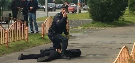 Rusya'da bıçaklı saldırı! 2'si ağır 8 yaralı