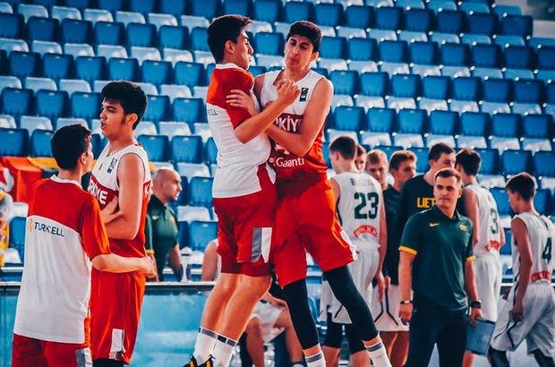 Litvanya'yı 80-62 yenen Türkiye, 17 Yaş Altı Dünya Basketbol Şampiyonası'nda!