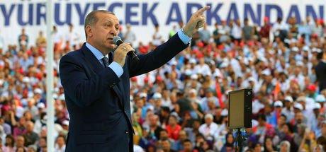 Cumhurbaşkanı Recep Tayyip Erdoğan Denizli'de