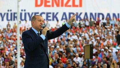 Cumhurbaşkanı Erdoğan: Türkiye yol ayrımındadır