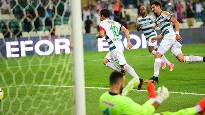 Nefes kesen maç Bursa'nın!