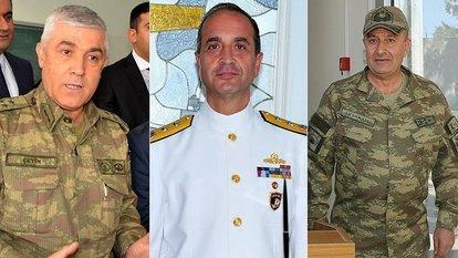 Jandarma Genel Komutanı, 2. Kolordu Komutanı ve Donanma Komutanı belli oldu!