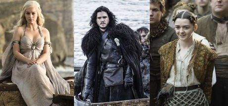 Game of Thrones karakterlerinin boyları