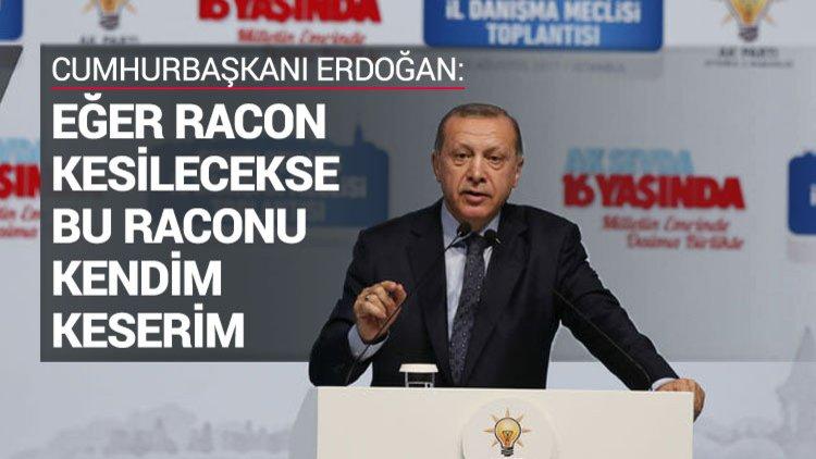 Cumhurbaşkanı Erdoğan'dan İstanbul teşkilatına uyarı