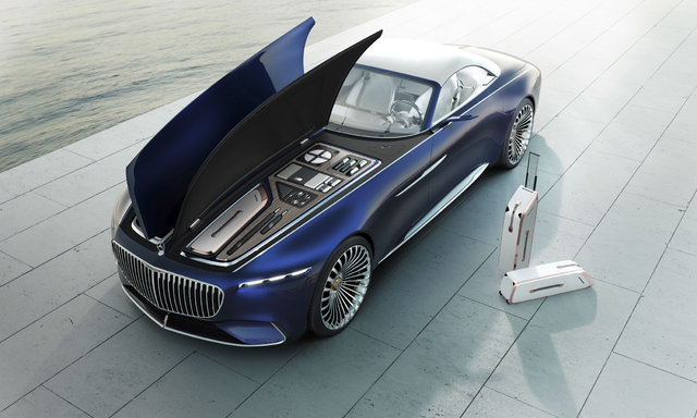 Mercedes-Maybach Vision 6 tanıtıldı
