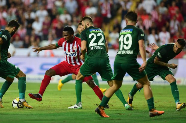 Antalyaspor: 2 - Akhisar Belediyespor: 2