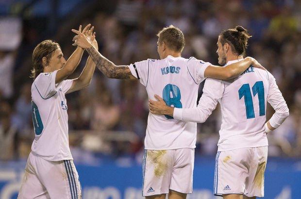 Ronaldo'suz Real farklı kazandı!