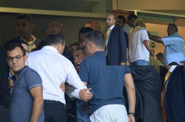 Mahmut Uslu ve Gökhan Saral tartıştı - Fenerbahçe - Trabzonspor