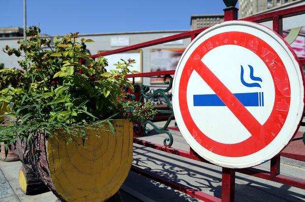 Sağlık Bakanlığı sigara yasağı