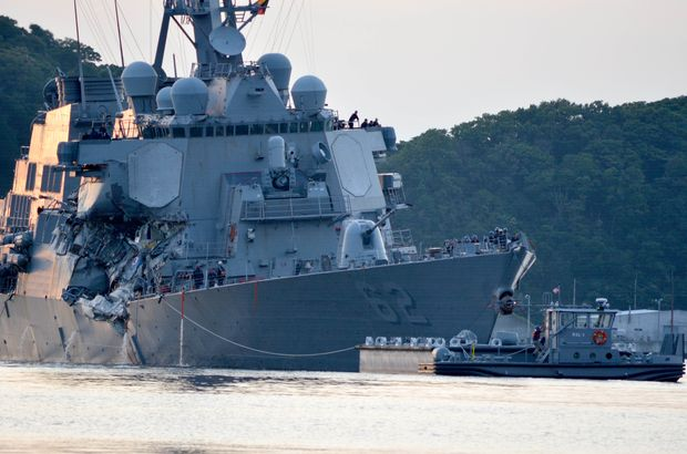 Singapur  ABD savaş gemisi