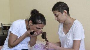 Gizem saçlarını hasta çocuklar için saklıyor