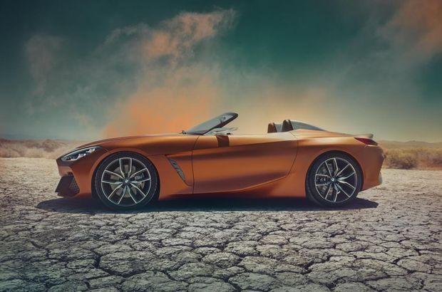 BMW, Z4'ün yeni konsept versiyonunu tanıttı