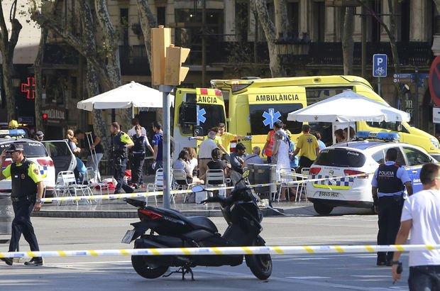 Barcelona'daki terör saldırısında ölü sayısı 15'e yükseldi