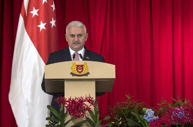 Başbakan Yıldırım: Uzakdoğu'ya Singapur üzerinden açılacağız