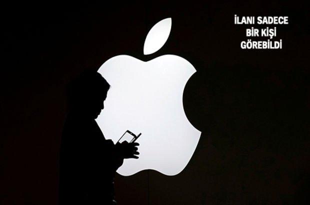 Apple'dan çok ilginç iş ilanı!