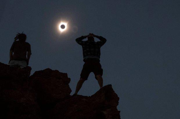 Tam güneş tutulmasına ABD'de büyük ilgi