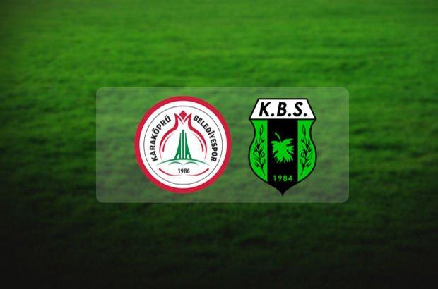 Karaköprü Belediyespor Kilis Belediyespor maçı saat kaçta? Türkiye Kupası