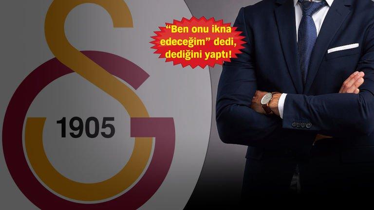 Galatasaray'ın transfer sihirbazı!