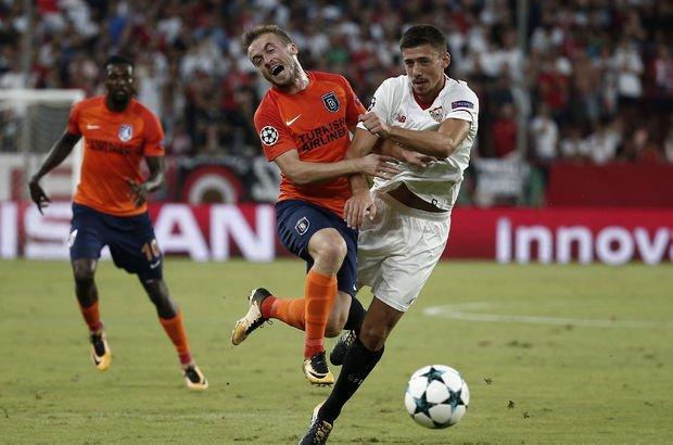 Sevilla - Başakşehir maç özeti! Medipol Başakşehir, Şampiyonlar Ligi'nden elendi