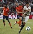 Medipol Başakşehir, Şampiyonlar Ligi play-off turu rövanş maçında deplasmanda Sevilla ile 2-2 berabere kalarak Devler Ligi