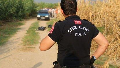 Dehşet veren olay! Görenler polise haber verdi