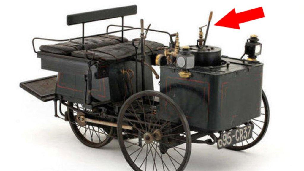 İşte tarihteki ilk otomobil! Direksiyonu bile yok