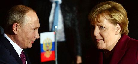 Macron, Putin, Merkel ve Poroşenko Ukrayna'yı görüştü