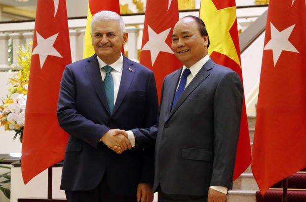 Başbakan Binali Yıldırım Vietnam'da