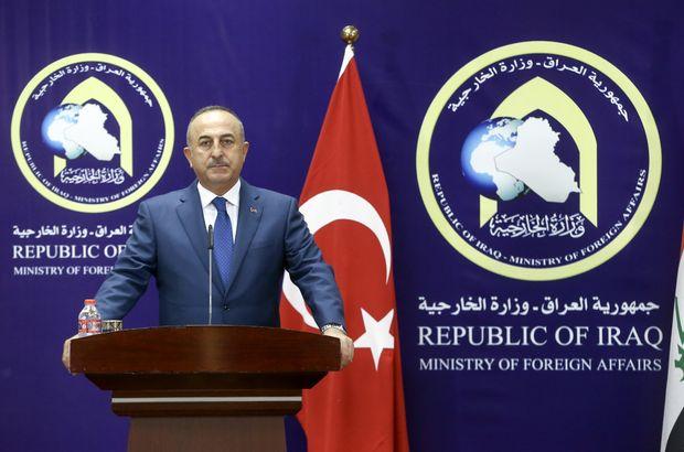 Mevlüt Çavuşoğlu, Irak'ta konuşuyor!