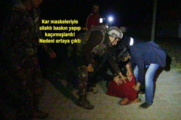 Aksaray'da benzin istasyonundan kaçırılan Egemen kurtarıldı