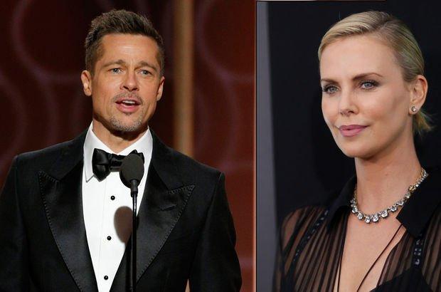 Brad Pitt ile Charlize Theron aşk mı yaşıyor? 2017