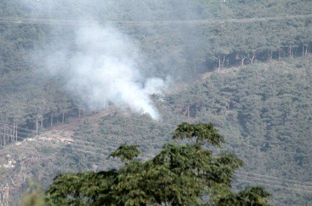 Amanos Dağları'nda terör örgütü PKK ile sıcak temas