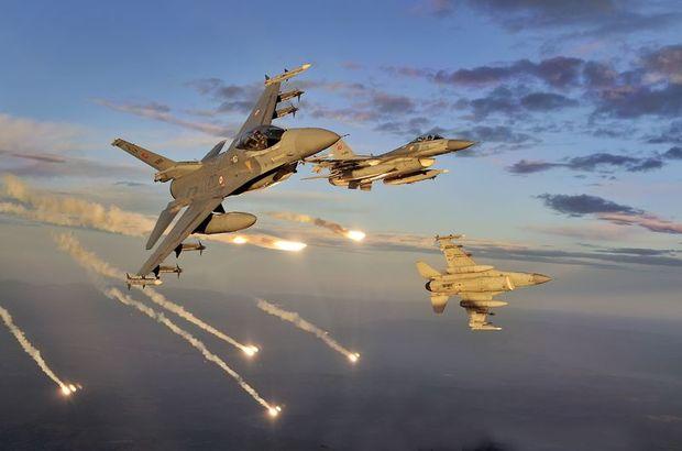 SON DAKİKA: TSK'dan Irak'ın kuzeyine hava harekatı