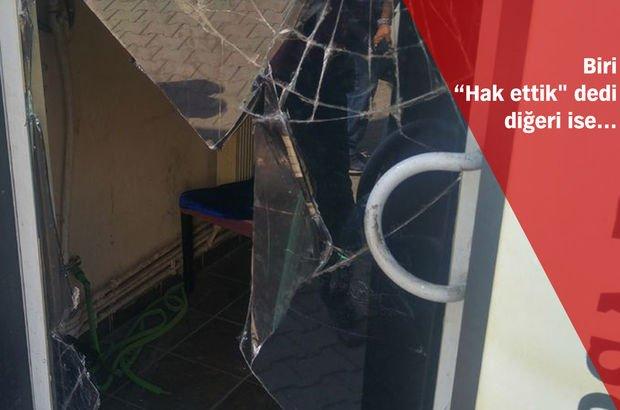 Bursa'da hesaba itiraz eden müşterileri işyerine kilitlediler