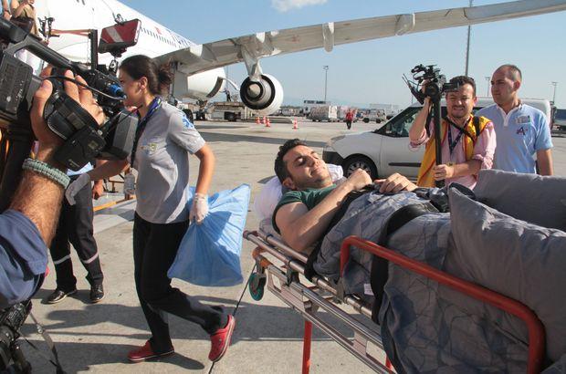 Barcelona saldırısında yaralanan Eroğlu Türkiye'ye getirildi