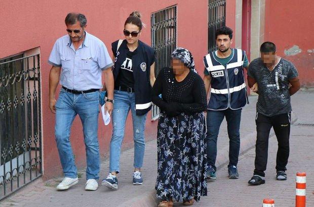 Kayseri'de uyuşturucu operasyonunda anne ile oğlu yakalandı