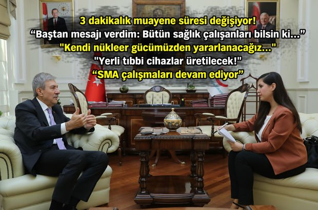 Ahmet Demircan, Sağlık Teşkilat Yasası hakkında konuştu