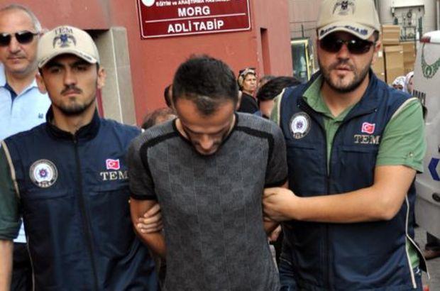 Kayseri'de kolunda 'Yurtta Sulh Konseyi' dövmesi bulunan kişi tutuklandı